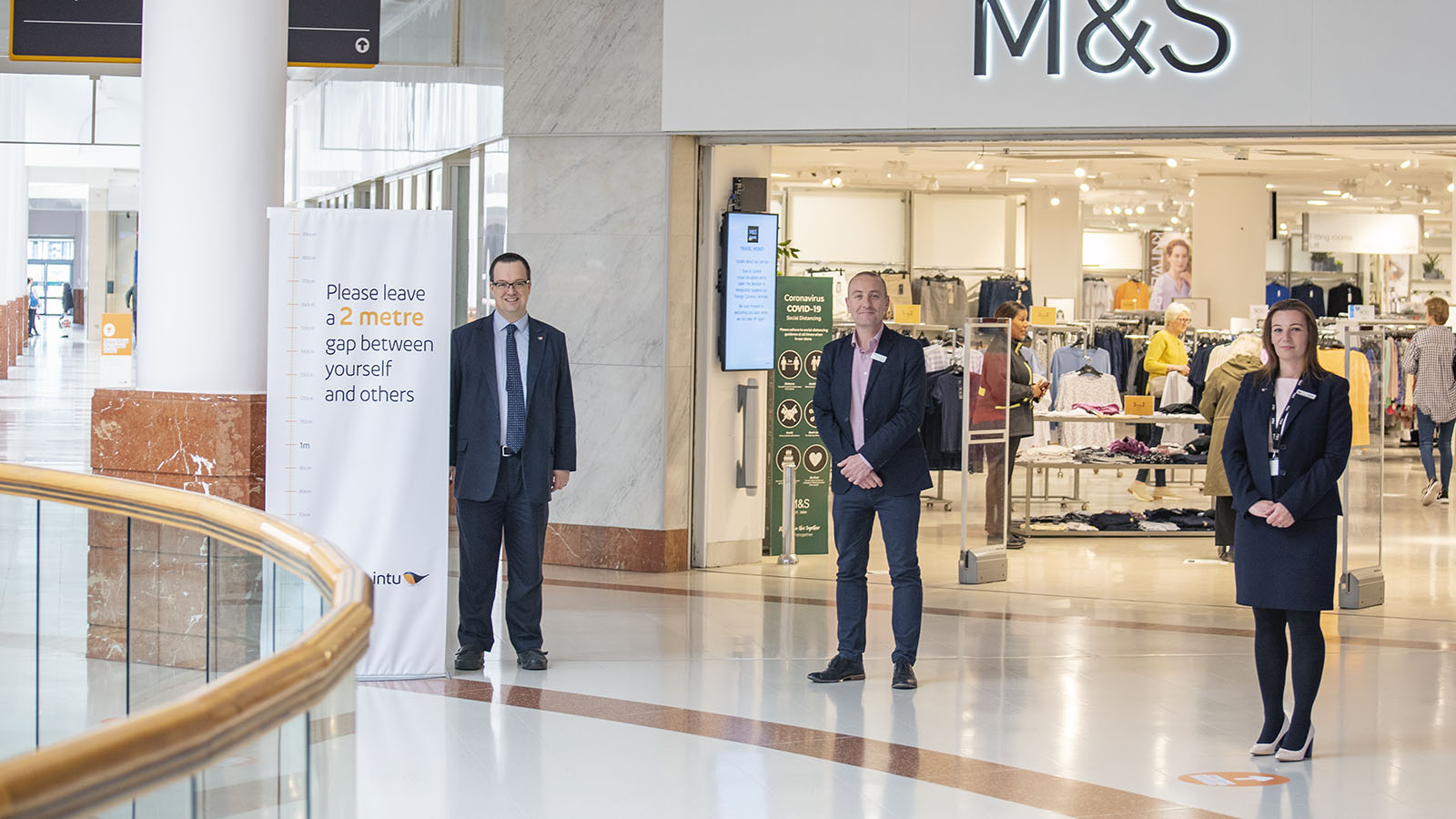 Mike Wood MP, intu Merry Hill