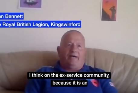 Coronavirus community information: Kingswinford Royal British Legion: Mike Wood MP