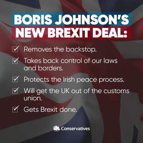 Boris Johnson's new Brexit deal