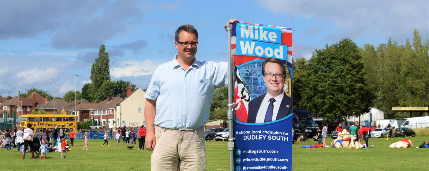 Mike Wood MP on his 2021 summer tour of pop-up surgeries